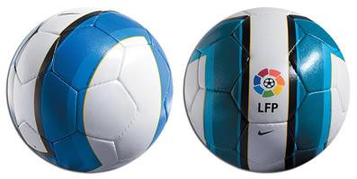 Total 90 Aerow II de Nike es el balón oficial de la Liga
